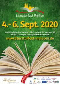 Plakat Literaturfest Meißen