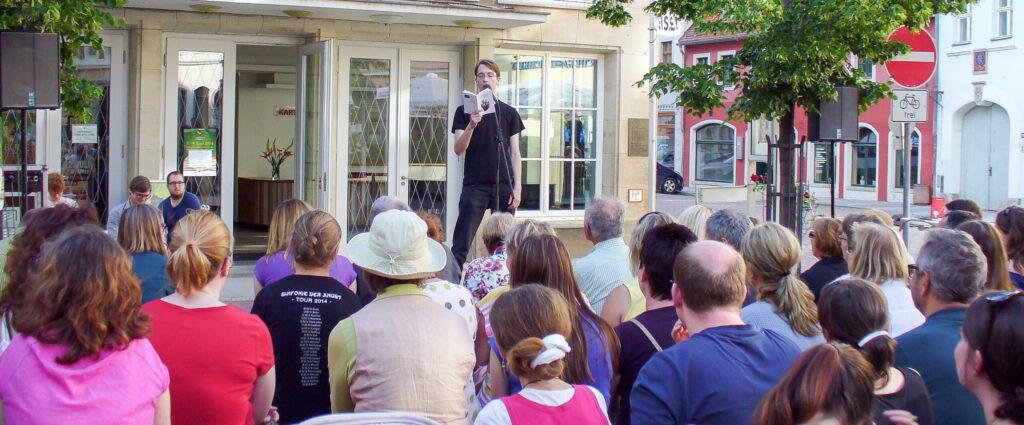 Poetry-Slam Literaturfest Meißen