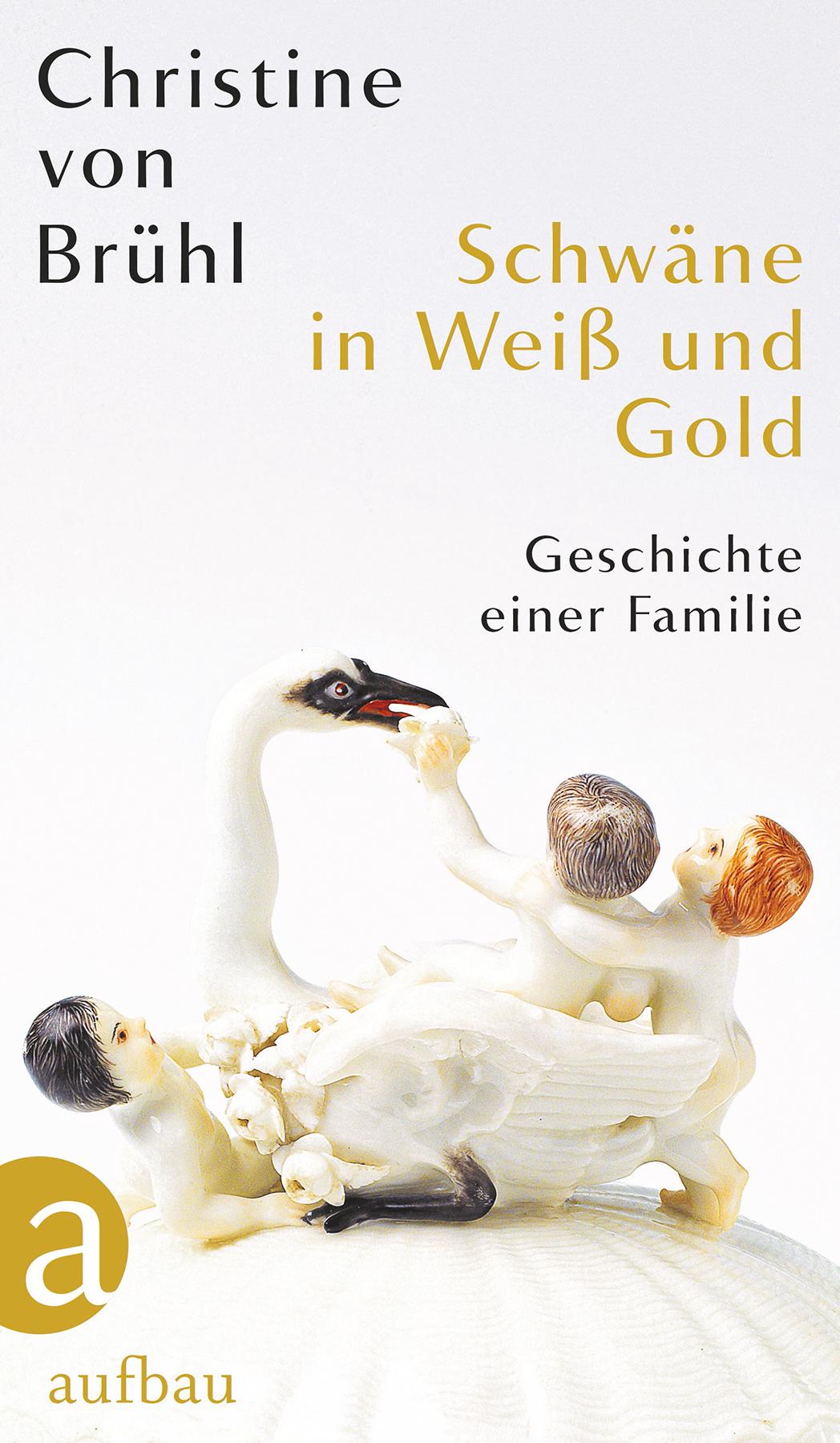 Christine von Brühl Schwäne in Weiß und Gold