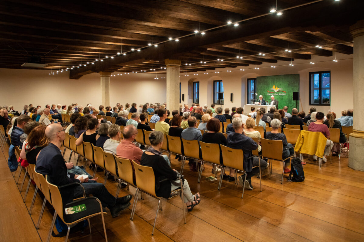Lesung im Ratssaal Literaturfest Meißen 2021