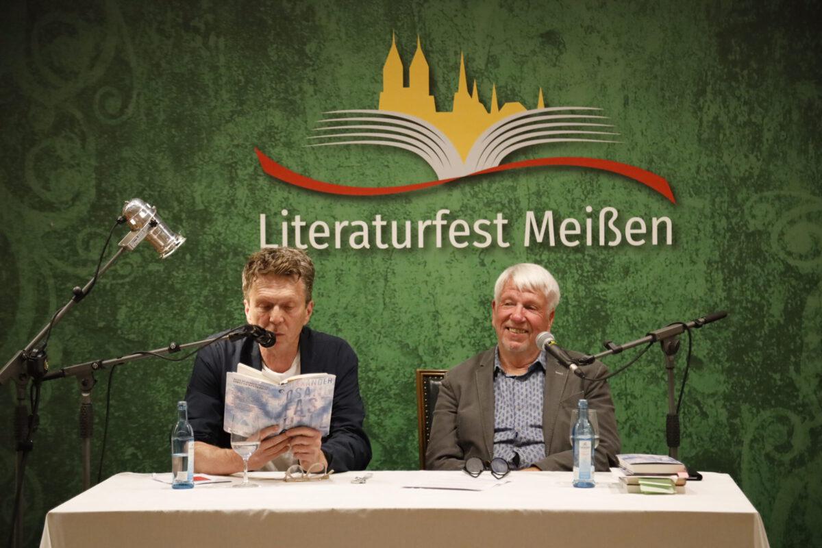 Alexander Osang und Michael Hametner